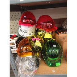 17 Assorted Helmets