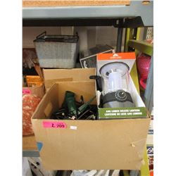 Lantern, Plastic Containers & More