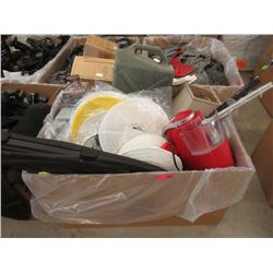 Large Box of New & Used Household Goods