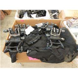 Large Box of Black BDU Pants & More