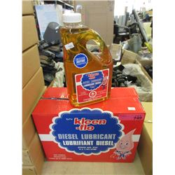 Case of  Four 1.92 L Kleen-Flo Diesel Lubricant