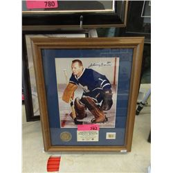 Johnny Bower Toronto Maple Leafs Memorabilia