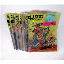 10 Classic Illustrated Comics from the 40's & 50's