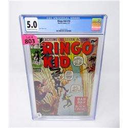"Graded 1971  ""Ringo Kid #10"" Marvel Comic"