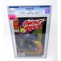 "Graded 1990  ""Ghost Rider #1"" Marvel Comic"