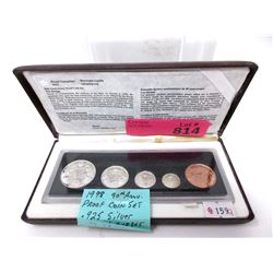 1998 Canadian 90th Anniversary Proof Coin Set