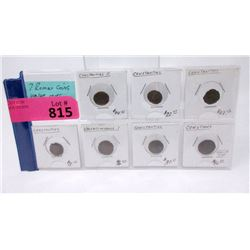 7 Ancient Roman Coins - Values at $150+