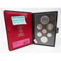 1979 Canadian Double Dollar Specimen Coin Set