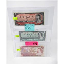 3 Canadian Replacement Bills