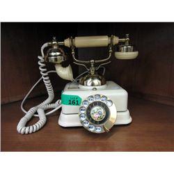 Vintage Rotary Dial Cradle Telephone