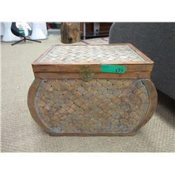 """Wicker Storage Basket - 12 x 20 x 14"""" tall"""
