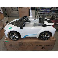 Kid's BMW i8 Spyder 1 Passenger Car
