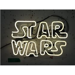 """New Electric Neon """"Star Wars"""" Sign"""