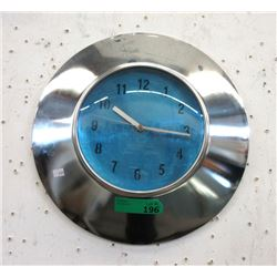 "16"" Metal Wall Clock - Keeping Time"