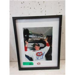 John LeClair Autographed Hockey Photo