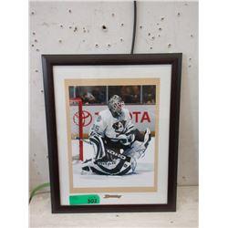 J. S. Giguere Autographed Hockey Photo