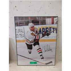 Chris Chelios Autographed Hockey Photo