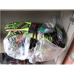 12 Pairs of Rawktech XL Gloves