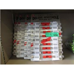 4 Sets of 18 Spectacle Repair Kits