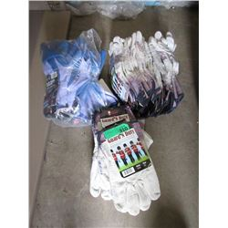 3 Bundles of Gloves - Approximately 30 Pairs