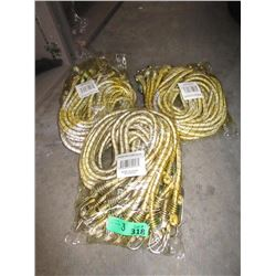 "3 Bundles of New 42"" Bungie Cords"