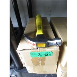 2 Cases of 6 Fibreglass Handle Hammers