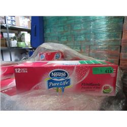 6 Cases- Sparkling Raspberry Lime Carbonated Water