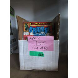 100 Collector Comics - Approximate Count