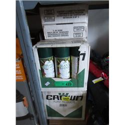 10 Cases of 6 Artificial Plant Aerosol Cleaner