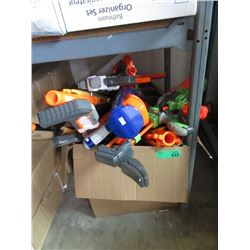 Large Box of Nerf & Other Toy Guns - Store returns