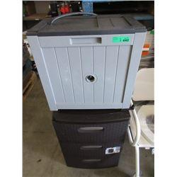 Hose Reel Box & 3 Drawer Resin Chest -Store return