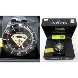 New in Box Men's Invicta Superman Watch