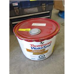 9.45 L of Thompson Waterproofer Wood Protector