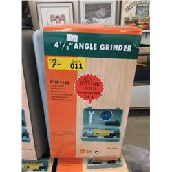 "2 New 4 1/2"" Angle Grinders"
