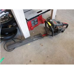 """Gas Powered Hedge Trimmer- 22"""" Blade"""