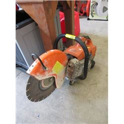 Concrete Cut-Off Saw with Diamond Tip Blade