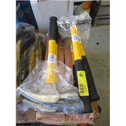 6 Fibreglass Handle Framing Hammers