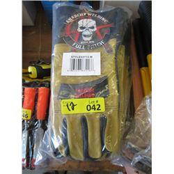 12 Heavy Duty Medium Size Welding Gloves