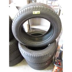"Set of 4 Michelin ""Latitude"" 235/55R19 Tires"
