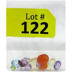 21.5 CTW Loose Assorted Gemstones