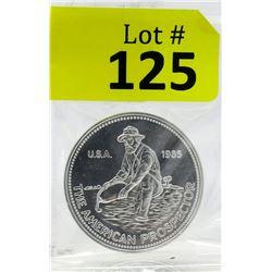 1 Oz. Engelhard .999 Fine Silver Round