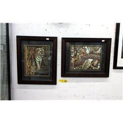Pair of Well Framed Robert Bateman Prints