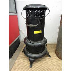 Vintage Metal Kerosene Parlour Heater