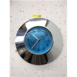 "Quiet 16"" Metal Wall Clock - Keeping Time"