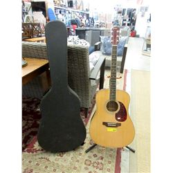 Northland Acoustic Guitar with Hard Case