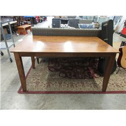 3 Foot x 5 Foot Wood Dining Table
