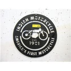 "16"" Indian Motorcycle Sign - Laser Cut Sheet"