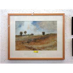 Large Wood Framed Scott Addis Print
