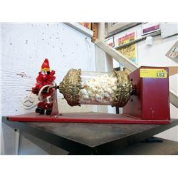 Vintage Mechanical Prize Drum Clown