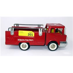 1950/1960s Structo Pressed Steel Fire Dept Truck